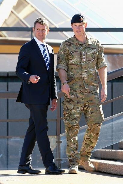 Ya ven cómo son las cosas. El príncipe Harry fue de visita a Sidney, Aus...