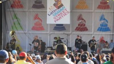 Latin Grammy Street Party LA