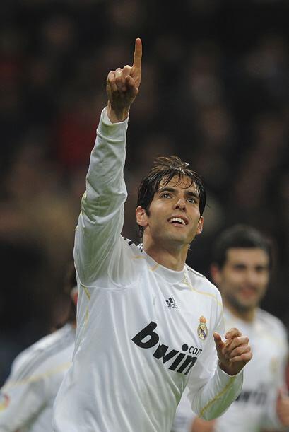 Kaká también hizo dos anotaciones para devolver la esperanza a los meren...