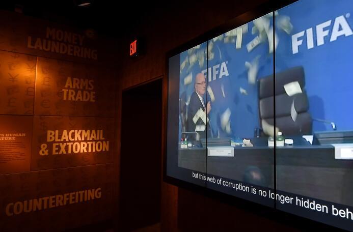 En Las Vegas se inauguró en el Museo de la Mafia una exposición sobre la...