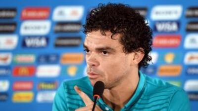 Pepe no piensa que haya un acuerdo entre alemanes y estadounidenses deje...