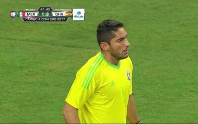 Pase de Raphael,que marca el gol
