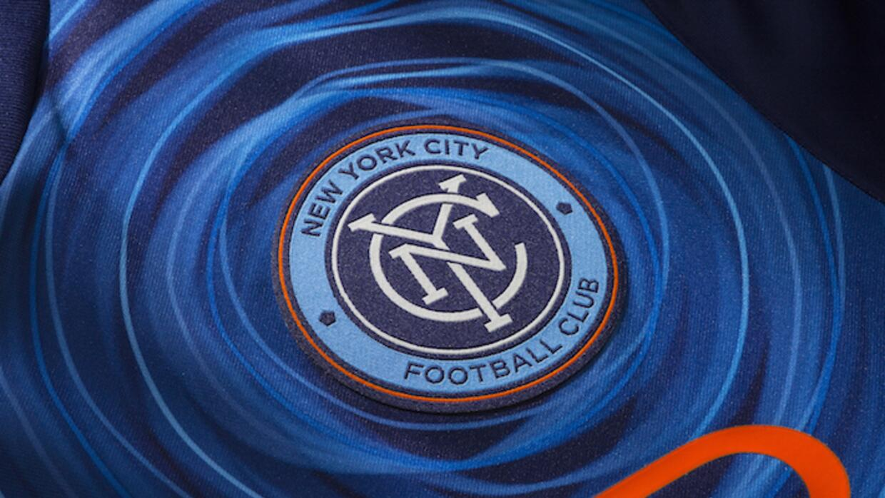 Escudo camiseta de New York City FC