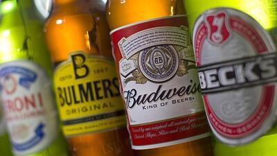 Cervezas de SABMiller y AB InBev