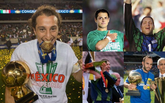 Mexicanos dominan en lista histórica de MVP's de Copa Oro MVP Copa Oro.jpg