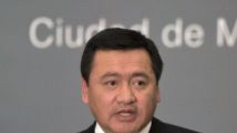 Miguel Ángel Osorio Chong, el ministro de Interior mexicano.