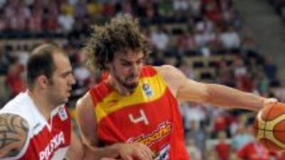 Pau Gasol y la selección de España, esperan triunfar en el campeonato de...