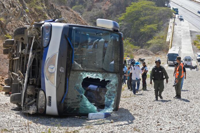 Accidente Autobús Huracán