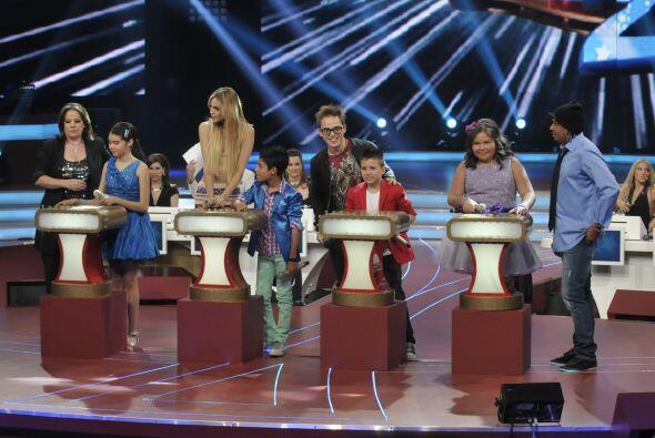También, esta vez, los niños de canto y los famosos demostraron en la bo...