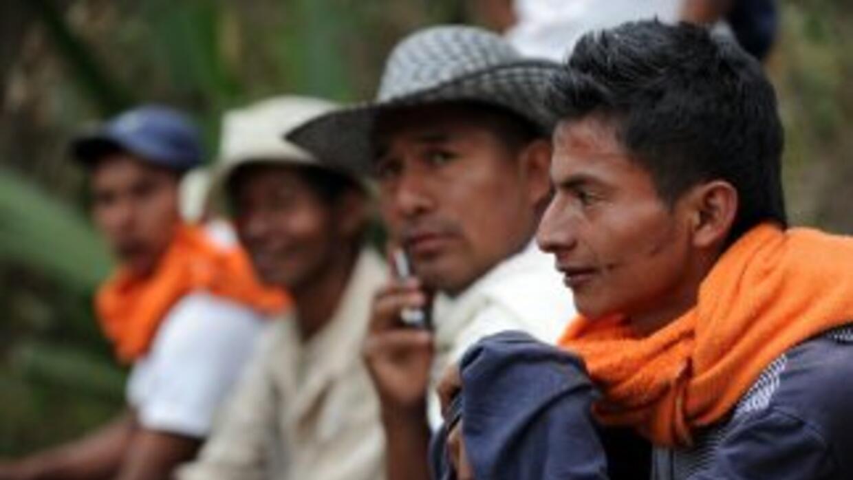 La muerte de un joven indígena a manos de militares aumentó el clima de...