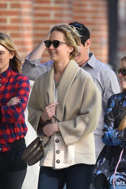 Jennifer Lawrence pasó sus vacaciones de Pascua rodeada de sus amigos. M...