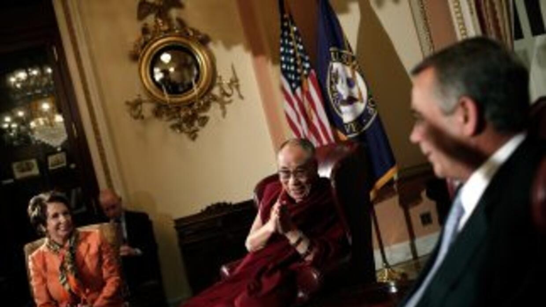 Este viernes el Dalai Lama continuó con su agenda e impartió una confere...