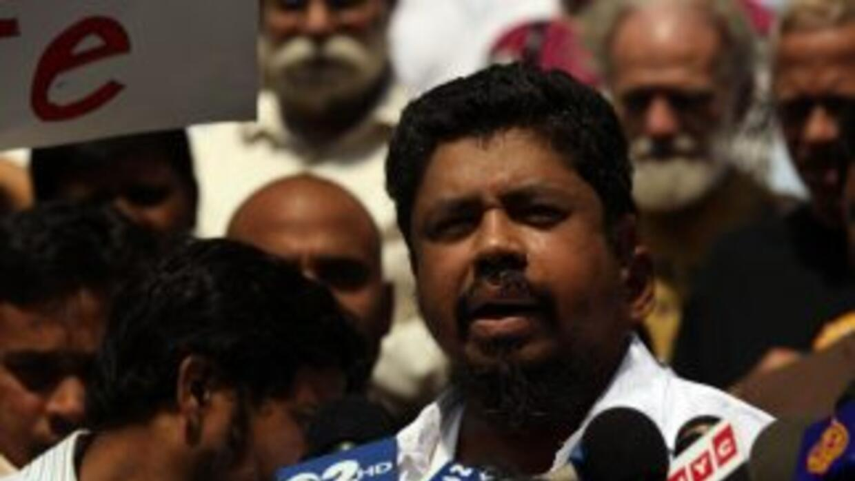Ahmed Sharif fue apuñalado tras decirle a un pasajero de su taxi que era...