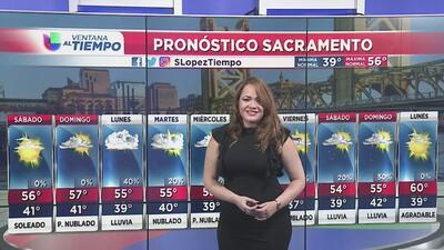 Condiciones soleadas para este sábado en Sacramento