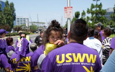 La mitad de los empleados de limpieza vive en la pobreza, dice el sindic...