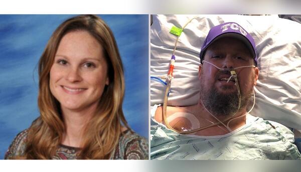 Heather Holland, de 38 años, y Brian Herndon, 51 años, suf...
