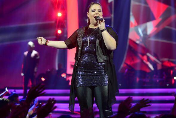 Para la gala 3, cantó uno de los grandes hits de Alejandra Guzmán.