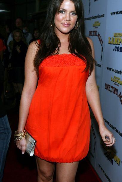 """En realidad, Khloé era el """"patito feo"""" de las Kardashian."""