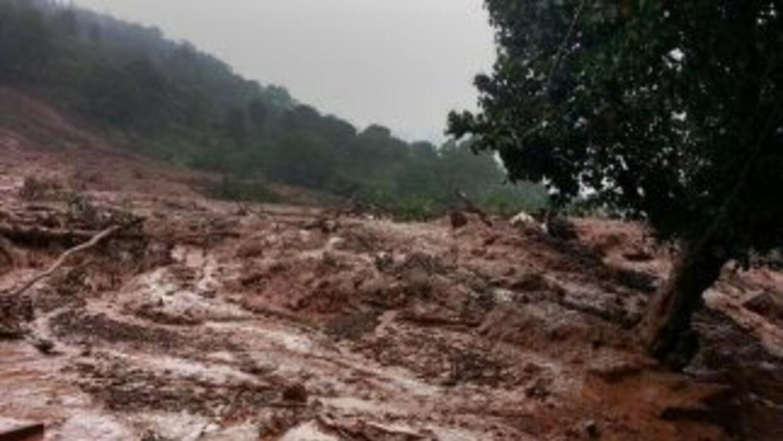 Lluvias torrenciales caen desde hace días en Maharashtra como consecuenc...