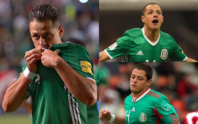 México debuta con empate en el Mundial Sub 17 chicharito.jpg