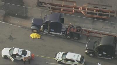 Conductor de camiones muere atropellado en el Puerto de Miami