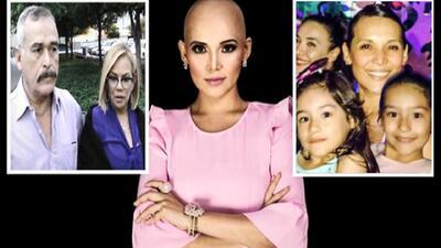 Los padres de Karla Luna y sus nietas.