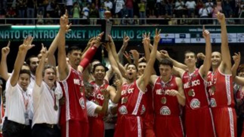 México campeón del Centrobasket al derrotar a Puerto Rico.