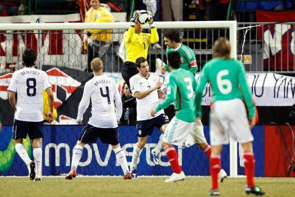 En 2009 durante el hexagonal final rumbo a Sudáfrica 2010, Rafael Márque...