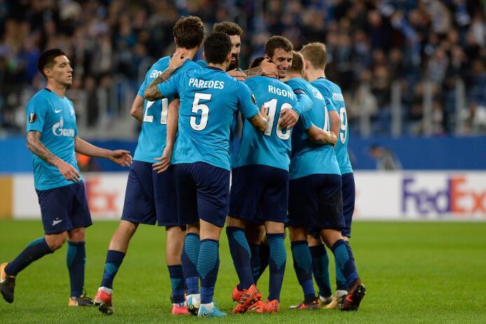 Zenit 3-1 Rosenborg: la escuadra rusa volvió a tener en los argentinos s...