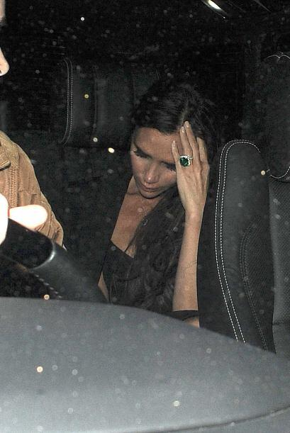 ¿Habrá estado mareada o molesta Victoria? ¡Es su fiesta y llora si quier...
