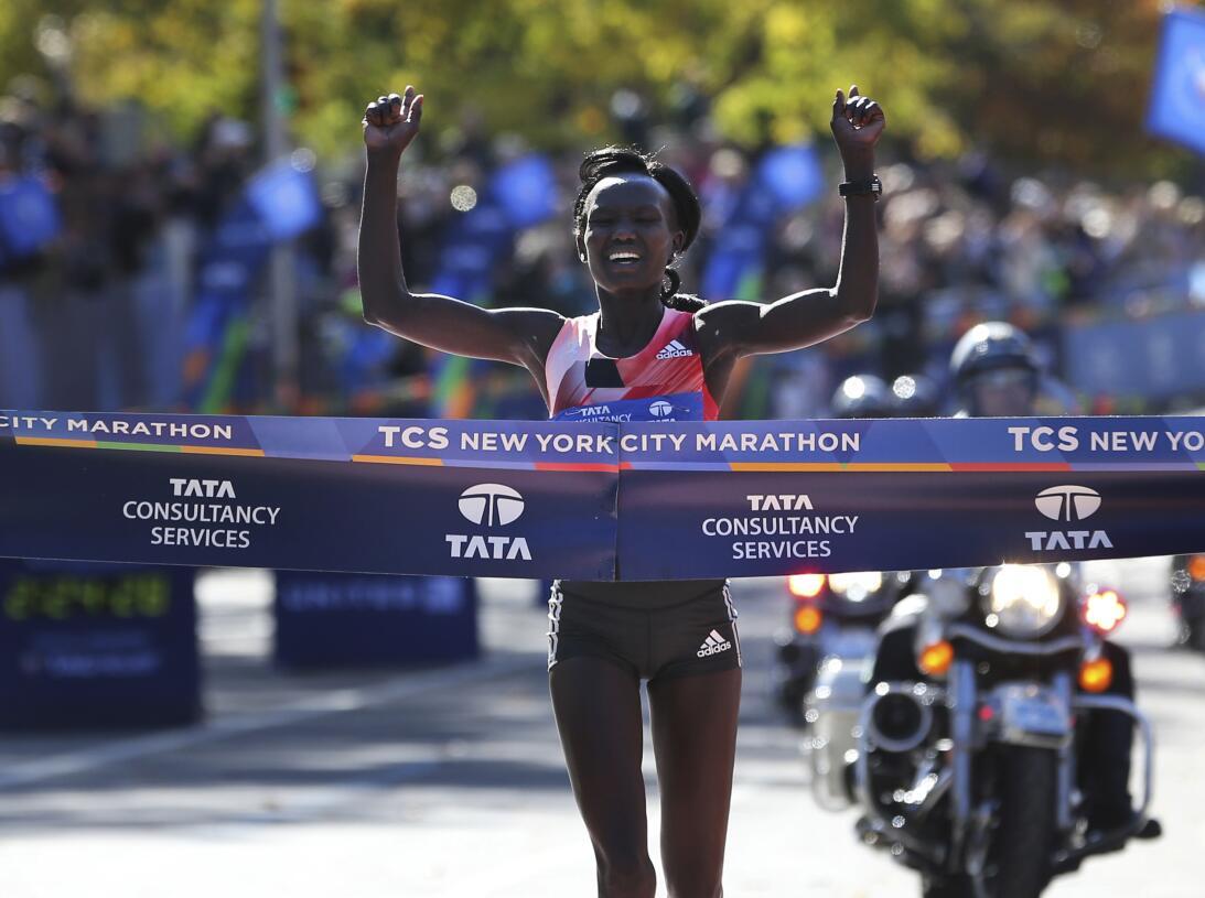 Maratón de Nueva York, entre el color y la competencia AP_16311637814169...