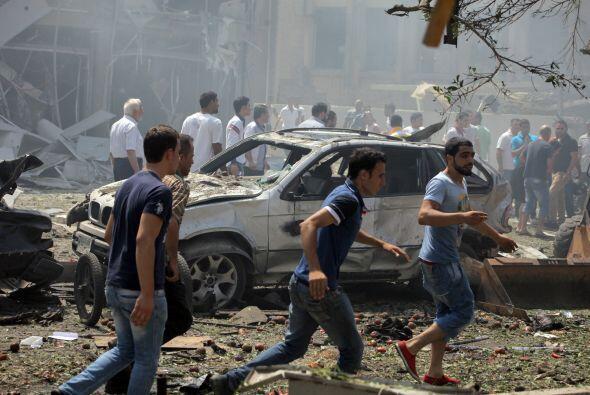 Los heridos fueron trasladados a los hospitales de Nini, Islámico y Hayk...
