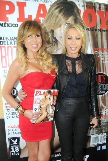 Alejandra de la Fuente hizo noticia cuando posó para la portada d...