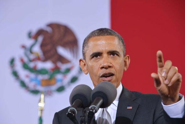 Además de tratar asuntos de interés a ambos lados de la frontera, Obama...
