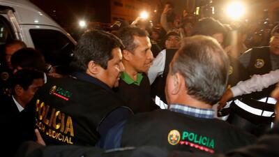 Ordenan 18 meses prisión preventiva para el expresidente de Perú Ollanta Humalay su esposa