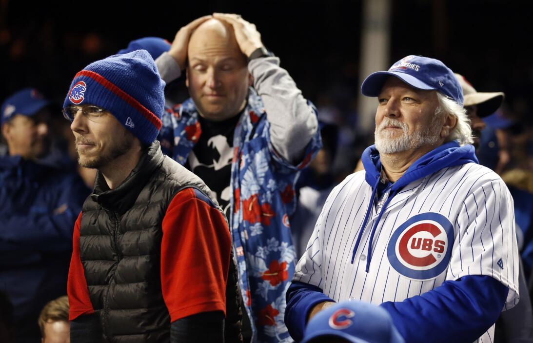 Así acabaron los Cubs sus 71 años sin ganar en el Wrigley Field en Serie...