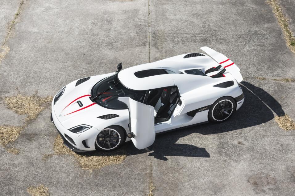 Puesto 3: el podio se inaugura con otro modelo de Koenigsegg, el Agera R...
