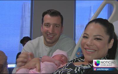 Ericka Pino nos presenta a su bebé Gabriella