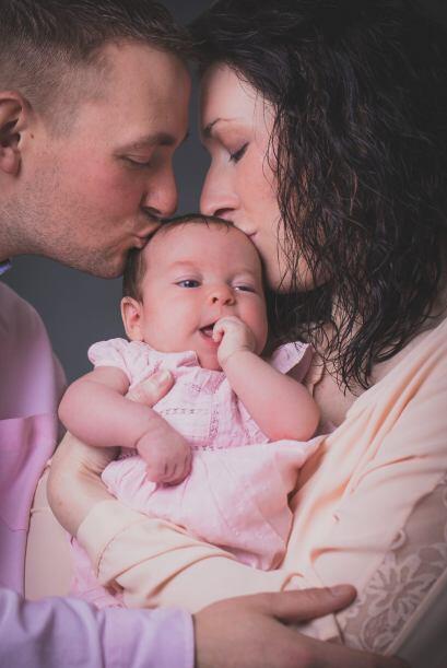 Lucy y su esposo Liam intentaron cuatro veces con inseminación artificia...