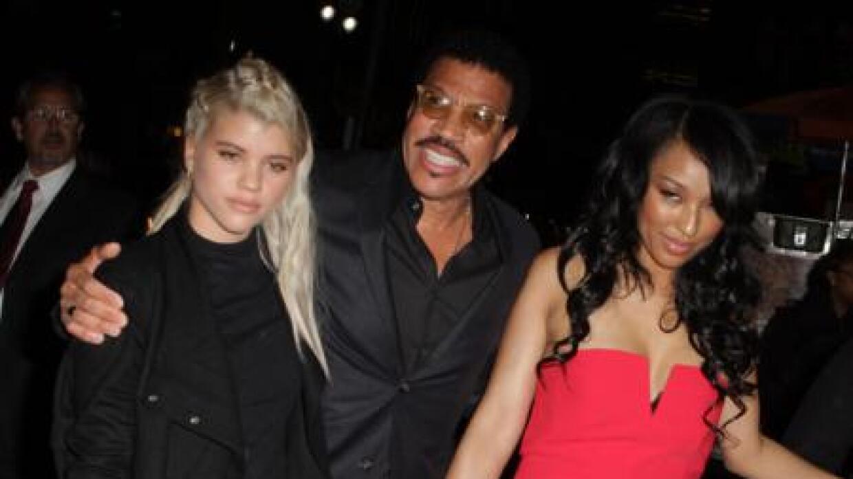 Sofía Richie, Liolel Richie y su esposa.