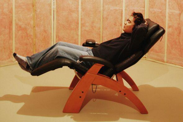 Una silla reclinable. Es una de las mejores opciones para poder relajart...