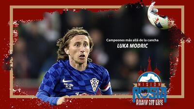 Campeones más allá de la cancha: Luka Modric