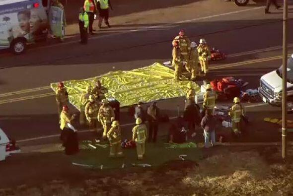 Autoridades confirman a 28 heridos, cuatro de ellos con heridas de grave...