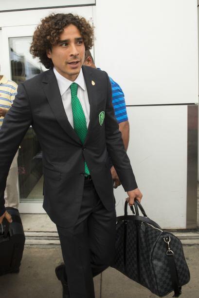 La comitiva mexicana anunció que ante Ecuador, Guillermo Ochoa será el a...