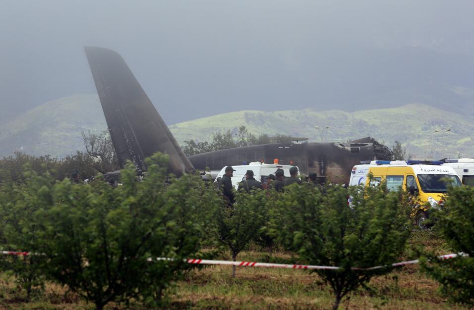 Accidente aéreo Argelia