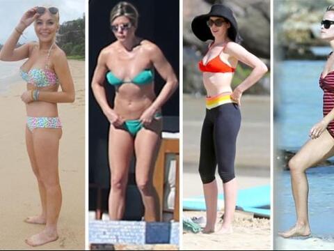 ¡Estas famosas nos harían un favor al no usar bikini pues n...