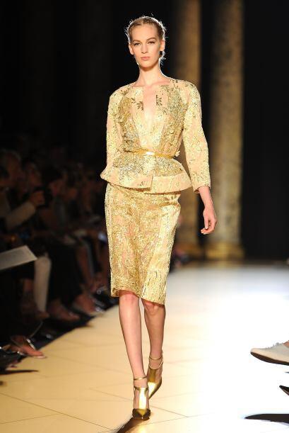 Los vestidos con silueta 'peplum' y encaje son tu mejor opción si quiere...