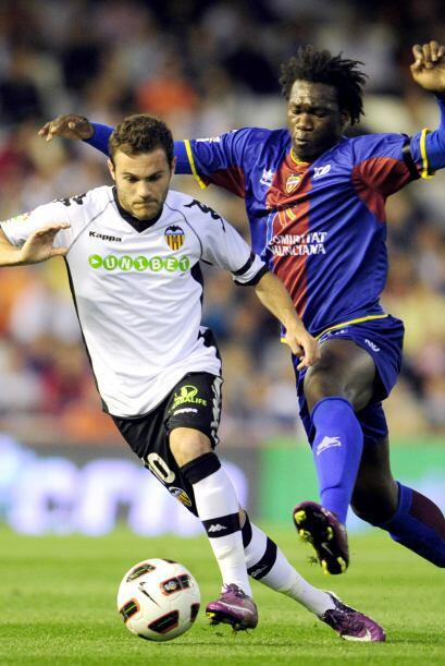 El Valencia quería aseurar el tercer puesto de la Liga.