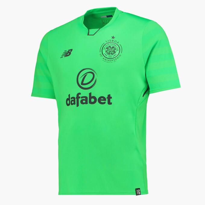 13. Celtic Glasgow - New Balance (Escocia)