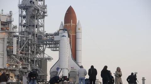 La NASA presentó la misión STS-134 que investigará...
